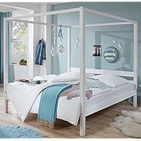 Froschkoenig24 Himmelbett Louise 20650 Kinderbett Kinderzimmer 180x200cm preisvergleich bei kinderzimmerdekopreise.eu