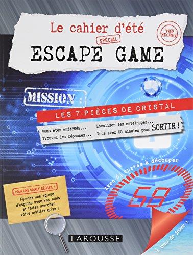 Le cahier d't spcial Escape game