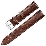 16mm Uhrenarmband Ersatz Leder Uhrenarmbänder für Männer Frauen Uhr Armband 16mm braun