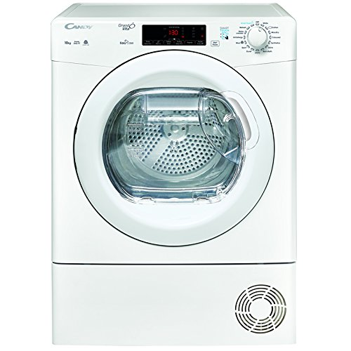 Candy GSVC10TE 10kg Condenser Tumble Dryer - White White / Brand New with 1 Year Labour 10 Year Parts