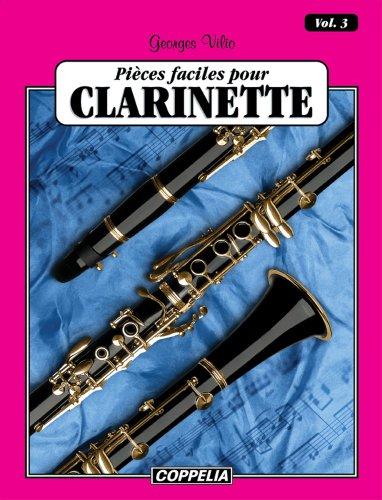 25 pièces faciles pour Clarinette/ Clarinet easy pieces vol. 3