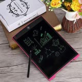 KARTsHiTech pad 12 inches LCD Writing Tablet/e-Writer/Electronic Writing pad/Drawing Board/E-Slate with Stylus, Save Paper, Learning is Fun