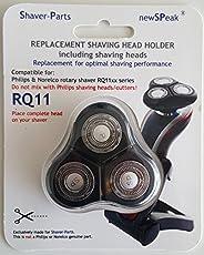 Shaver-Parts 6669000011 Scherkopf (mit 3 Scher-Köpfe), passend für Philips Rasierer Senso Touch 2D, RQ11xx Serien