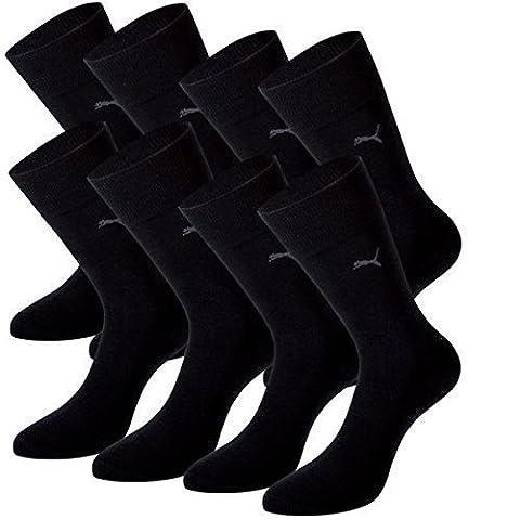 PUMA Herren Casual Socken Classic 8er Pack (47-49, black)