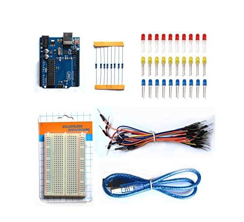 Kit BASICO INICIACION für Montage für Arduino DIY 011R3Starter IDE 4262 (I/o-board-montage)