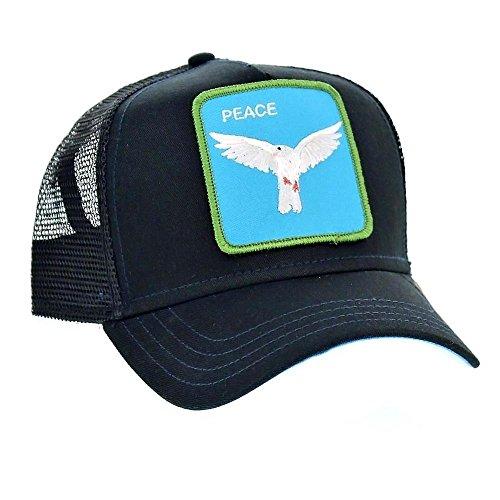 a45fd4d329d9dd Goorin Bros. Animal Farm 'Peace Keeper' Dove Snapback Trucker Hat Black