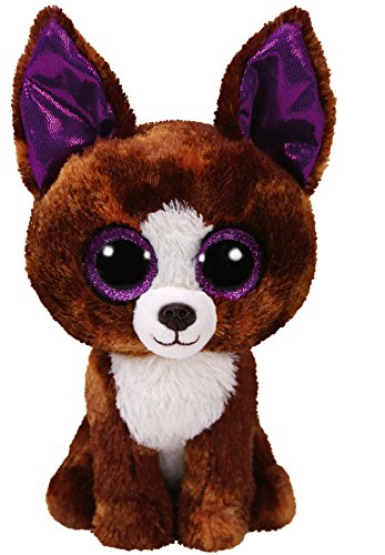 Ty TY36878 Beanie Boo'S - Peluche Dexter le Chihuahua, 15 cm, Figurines
