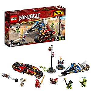 LEGO Ninjago - Moto-lama di Kai e Moto-neve di Zane, 70667  LEGO