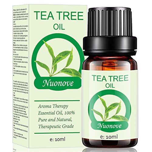 Teebaumöl, Tea Tree Oil, Teebaum Öl, Teebaumöl Gesicht, Heilendes Teebaum Öl für Gegen unreine Haut, Hautentzündungen, Anti Pickel und gegen Akne, Schuppen und Mitesser