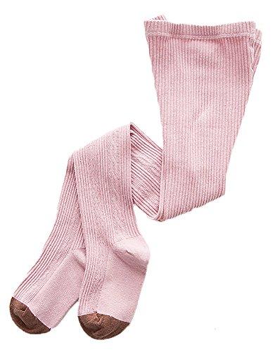 Kaily Mädchen Cartoon Elastische Taille Leggings Strumpfhosen(Pink,M(3-5Jahre)) (Elastische Baumwolle Strumpfhosen Taille)