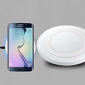 Aursen® 2Anni Di Garanzia Modern Ultraslim senza fili caricatore Wireless Charging Pad per Samsung Galaxy S6/S6edge Indicatore LED Wirless di alta qualità per stazione di ricarica
