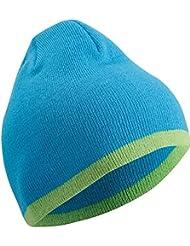 Wintermütze Damen Herren und Kinder ideal im Winter als Sportmütze und Freizeitmütze. Warme Strickmütze in Einheitsgröße, Unisex in 3 Bestsellerfarben