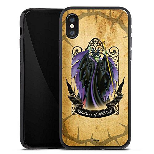Apple iPhone X Silikon Hülle Case Schutzhülle Disney Dornröschen Merchandise Geschenke Silikon Case schwarz