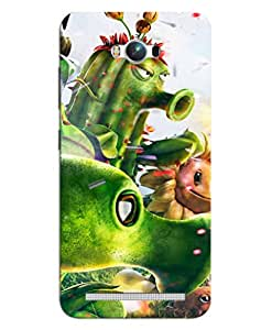 FurnishFantasy Mobile Back Cover for Asus Zenfone Max (Product ID - 0380)