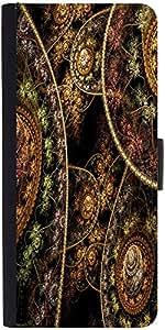 Snoogg Fractal Domes 2632 Designer Protective Flip Case Cover For Samsung Gal...