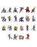 22 pcs Game Card for Legend of Zelda: Breath of The Wild, NFC Tag Cards for Nintendo Switch Standard Card