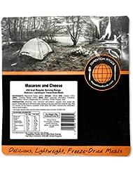 Expedition Foods Macarrones y queso Regular servir alimentos liofilizado, color naranja, 450Kcal