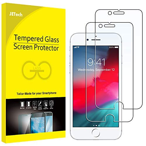 JETech Protector de Pantalla Compatible iPhone 8