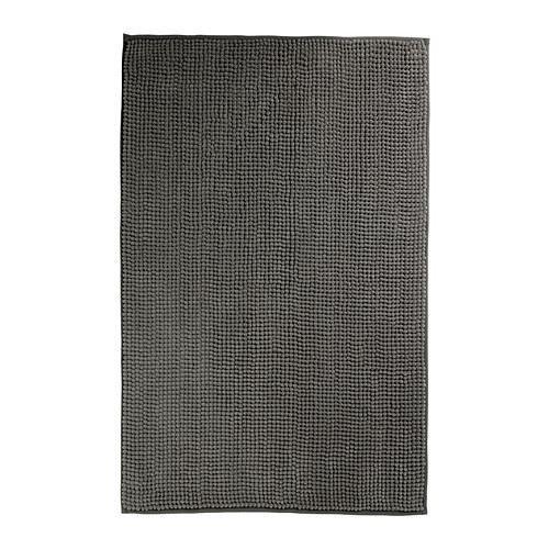 TOFTBO–alfombrilla de baño, color gris