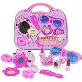 Zantec Kinder Make Up Spiel Toys Set Pretend Play Friseur Koffer als Geschenke für Mädchen