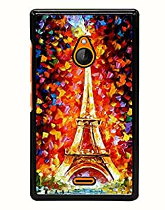 Aart Designer Luxurious Back Covers for Nokia XL540 + 3D F2 Screen Magnifier + 3D Video Screen Amplifier Eyes Protection Enlarged Expander by Aart Store.