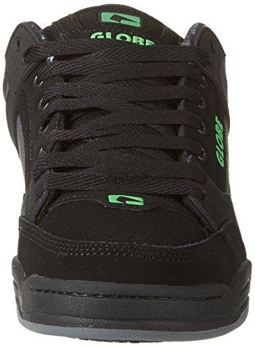 Globe Herren Tilt Low-Top Schwarz (Black/camo/moto Green)