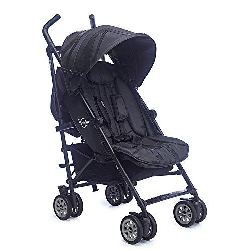 easywalker Mini Buggy XL - Silla de paseo, diseño Midnight Black