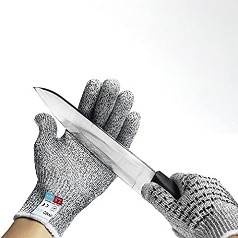 InnoBeta® Non-slip Cut Resistant Touchscreen Gloves High Performance Level 5 Cut Protection Grey