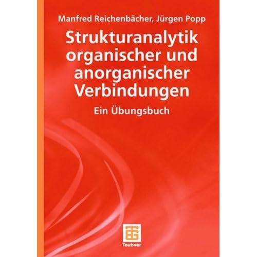 Pdf Strukturanalytik Organischer Und Anorganischer