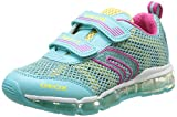 GEOX, J ANDROID GIRL - Zapatillas para niñas, turquesa - Türkis (WATERSEA/YELLOWC3083), 33