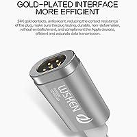 Digi4U ® WSKEN X-Cable metallo magnetica cavo mini 2Micro USB per Samsung S7Edge, S6Plus Edge, Note 5, Note 4, S5 - 24k Miniatura