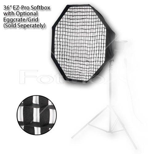 Fotodiox EZ-per-36-ottobre-NormMono Profi Studio-Lösungen EZ per 36 Octagon Softbox con connection speed   ring per Norman Monolight ML600R
