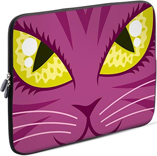 Sidorenko 11-11,6 Zoll Laptop Hülle - Laptoptasche für MacBook / Chromebook aus Neopren, Rosa, 42 Designs zur Auswahl