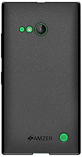 Amzer Pudding TPU Case for Nokia Lumia 730 & Nokia Lumia 735 (Black)  available at amazon for Rs.374