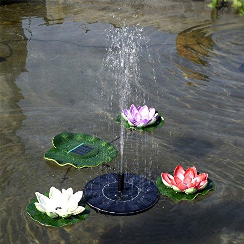 Heißer Verkauf 7 V Schwimm Wasserpumpe Solar Panel Garten Pflanzen Wasser Power Brunnen Pool (Solar-panel Für Pflanzen)
