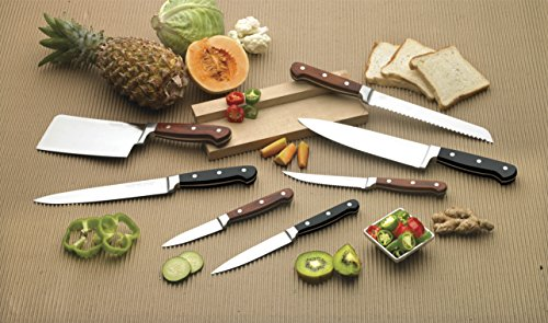 Crystal Stainless Steel All Purpose Knife, Black (CL-902)