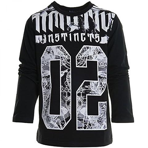 Kinder Jungen Bluse T Shirt Pullover Langarm Sommer Longsleeve Sweat Shirt 20542, (King Tut Kostüm Kind)