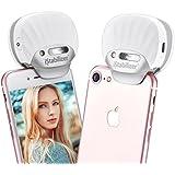 Mini Xénon Flash Shell Portable, Selfie Flash Professionel pour iPhone, jusqu'à 1000 fois plus brillant que LED par Fotopro, Argent