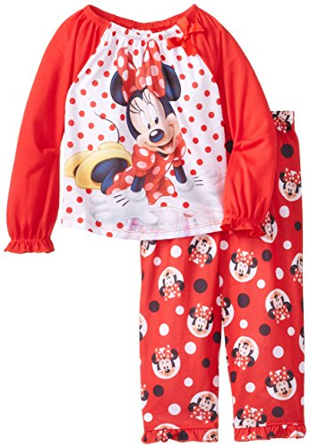 Disney Little Girls' Minnie Mouse Red Dots Sleep Set