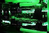 VIBOX Venom GL780T-46 Komplett-PC Paket Gaming PC – 4,5GHz Intel i7 Quad Core CPU, 2x GTX 1080 Ti, leistungsfähig, Wassergekühlter Desktop Gamer Computer mit Spielgutschein, 3x Dreifach 24″ DELL Monitor, Razer Tastatur, Razer Maus, Windows 10, lebenslange Garantie* (4,2GHz (4,5GHz Turbo) Superschneller Intel i7 7700K Kabylake Quad 4-Core Prozessor CPU, 2x Dual SLI Nvidia GeForce GTX 1080 Ti 11GB Grafikkarten, 32GB DDR4 3000MHz RAM, 480GB SSD, 4TB Festplatte, Gewohnheit Wasserkühlung) - 6