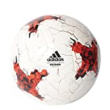 adidas Confed Sala 5 x 5 Futsal Fußball, Top:White/Bright Red/Red/Black Bottom:Silver Metallic/Pantone, One Size