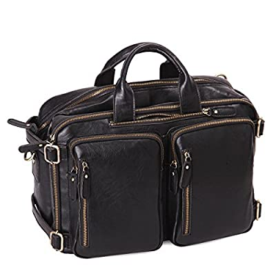 Leathario sac en cuir sac messager porte epaule cuir veau en premiere couche Hommes sac besace sac bandouliere sac a main cuir pour hommes