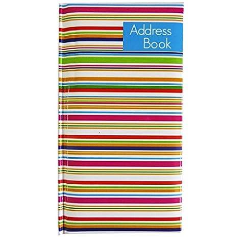 Schlank, Stilvoll, Weich, A-Z Adressbuch - Streifen