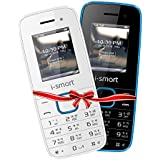 [Sponsored Products]i-smart IS-100L-Selfie-(Blue-Black / White-Blue) Combo | Keypad Mobile Phones| Basic Mobile Phones