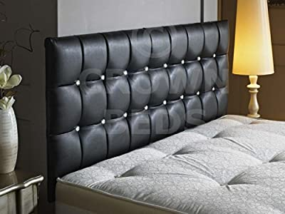 New Cubed Leather Headboard in 3ft,4ft,4ft6,5ft,6ft with different height option