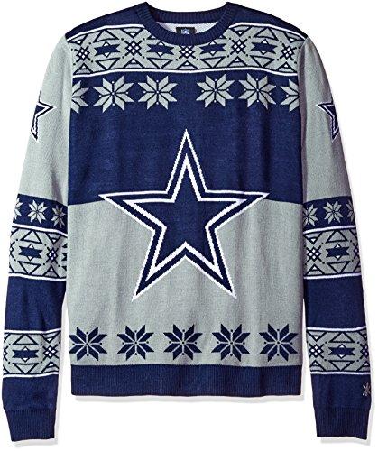 Klew NFL Big Logo Pullover Größe L Dallas Cowboys - Nfl Männer Cowboys Für Sweatshirts