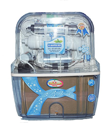 Rk Aquafresh India Az Series K200 Transparent 12Ltrs{Ro+Uv+Uf+Minerals+Tds Adjuster} Ro Water Purifier  available at amazon for Rs.5199
