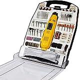 Mini-Schleifer Set 243-teilig ca. 135 W Schleifmaschine Multifunktionswerkzeug inklusive Koffer