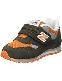 Kv577Goi Nbkv577Goi_ Green/Orange -21, Null para New Balance Kv577Goi, Zapatillas para Bebé Niños, Verde, EU 21, Verde, Verde