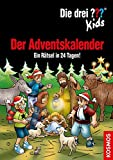 : Die drei ??? Kids, Der Adventskalender: Ein Rätsel in 24 Tagen! Extra: Stickerbogen